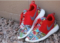 "Nike Roshe Run ""Marvel Comics"" Customs by Profound Product"