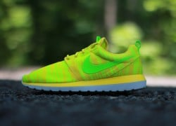 Nike Roshe Run NM BR 'Charm Yellow/Electric Green-Volt'