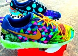 "Nike Roshe Run ""What The Roshe"" Customs by Paco Customs"