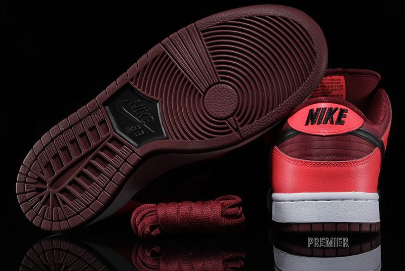 b0aed14a5184 Nike SB Dunk Low Pro  Laser Crimson Black-Team Red