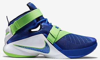Nike Zoom Soldier 9 Sprite Release Date 2015