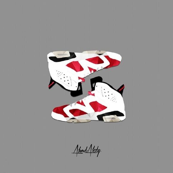 sneaker-art-air-jordan-6-carmine-by-ahmd-akdg