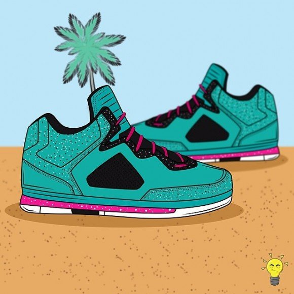 sneaker-art-way-of-wade-miami-vice-illustration-by-raymond-designz