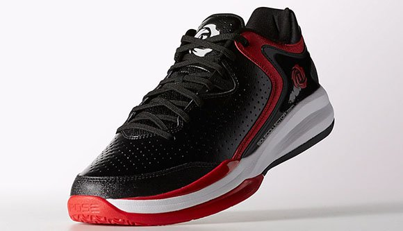 new style ebf95 1260f good adidas D Rose Englewood III Black Red