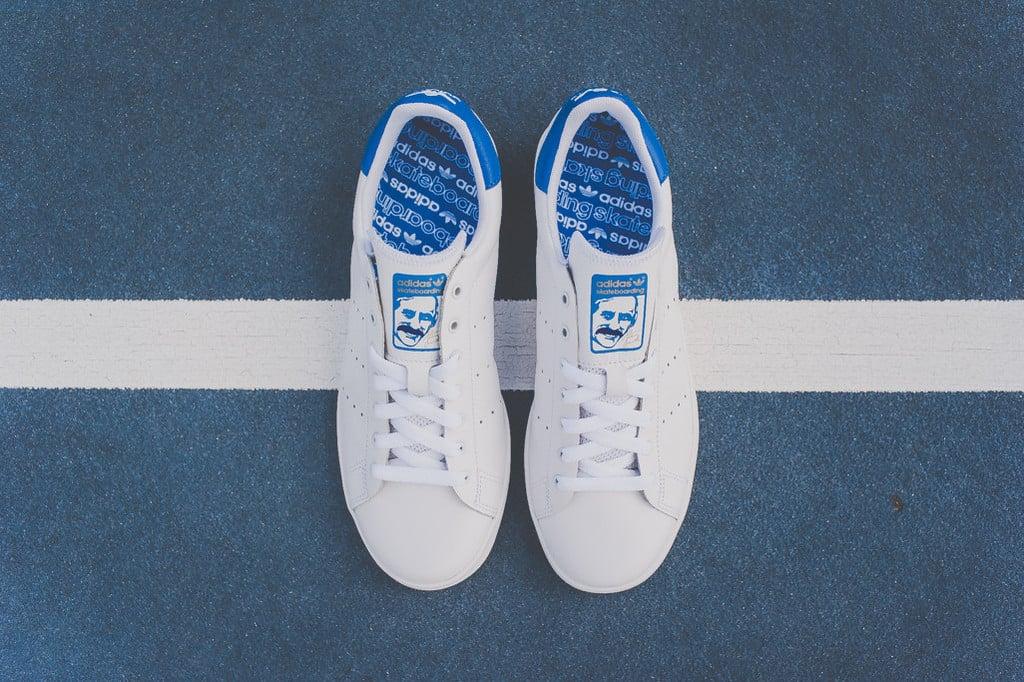 adidas originals stan smith vulc blue