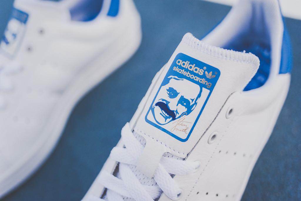 adidas skateboarding stan smith vulc bleu