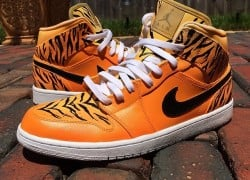 "Air Jordan 1 ""Welcome To The Jungle"" Customs by V.A.B."