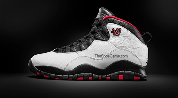 Air Jordan 10 Chicago with 45 2015 Retro