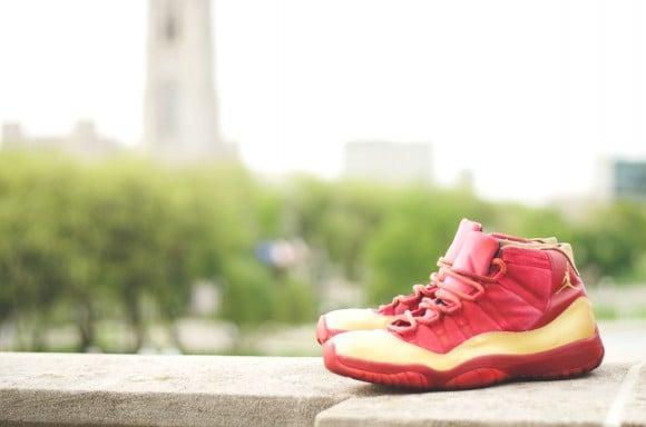Air Jordan 11 Quot Iron Man Quot Customs By Dmc Kicks Sneakerfiles