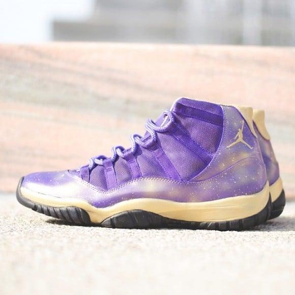 Purple And Gold Air Jordans Air-jordan-11-purple-freestyle