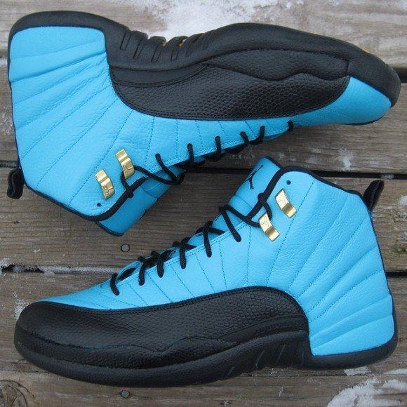 Air Jordan 12 Reverse Gamma Customs By Ksm