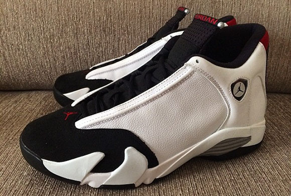 Air Jordan 14 Black Toe 2014 Retro