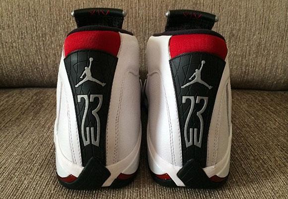 Air Jordan 14 Black Toe 2014 Retro
