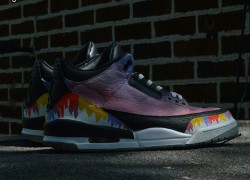 Air Jordan 3 'Acid Rap' Customs by Heff Sneaks