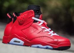 """Air Jordan 6 """"Total Infrared"""" Customs by Rano Customs"""