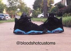 Air Jordan 6 'True Gamma' Customs by Bloodshot Customs