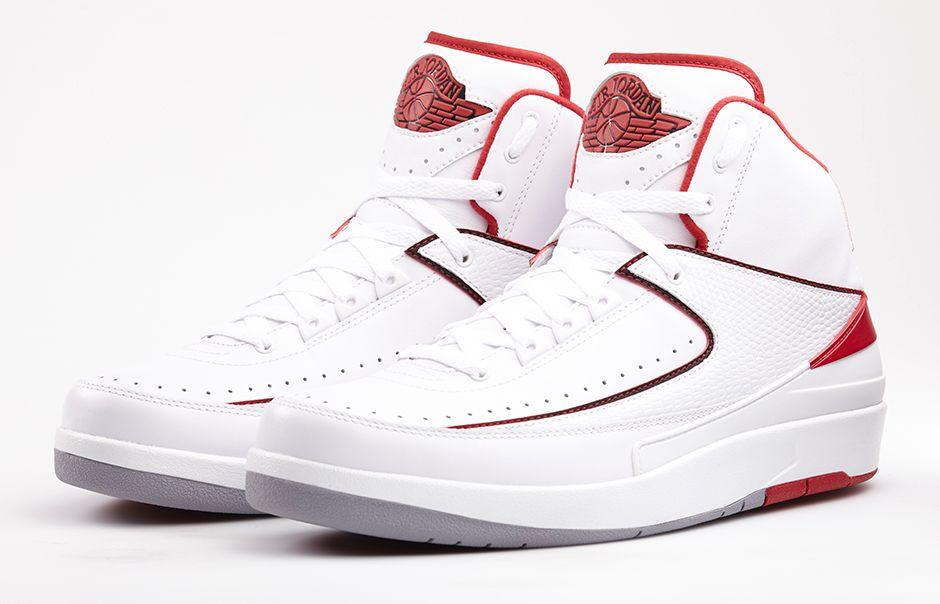 Air Jordan II (2) 'White/Varsity Red