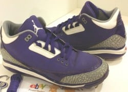 Air Jordan III (3) 'Colorado Rockies' PE Cleat