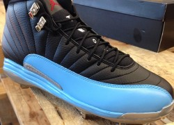 Air Jordan XII (12) 'Father's Day' Baseball Cleats by Recon