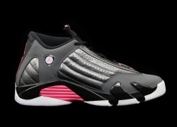 Air Jordan XIV (14) GS 'Metallic Dark Grey/Black-White-Hyper Pink' – Release Date