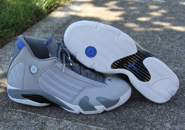 sports shoes 678e5 7c074 low-cost Air Jordan XIV 14 Sport Blue Our Latest Look