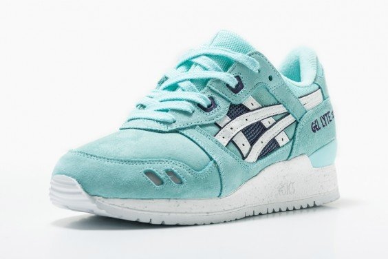 asics gel lyte 3 blue tint/white