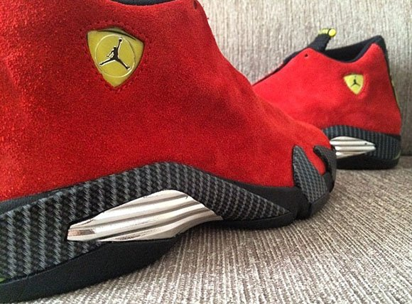 Ferrari Air Jordan 14 - New Pictures