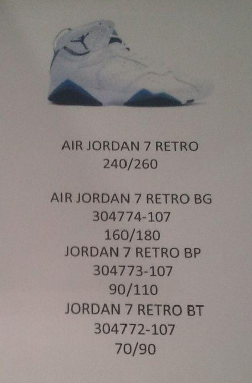 French Blue Air Jordan 7 Returning in 2015