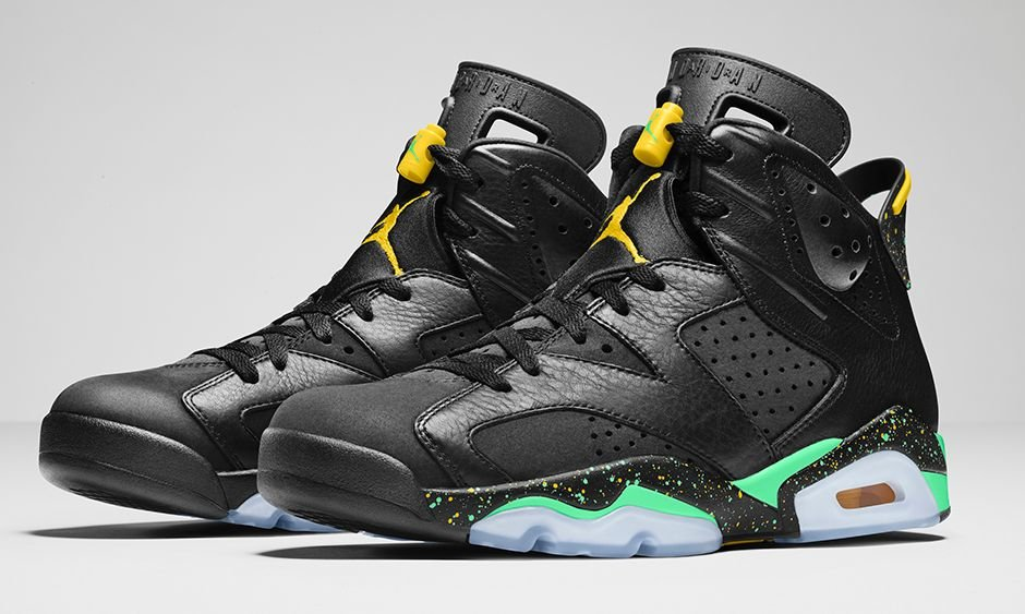 competitive price a0f87 3f3f6 Jordan Brazil Pack Foot Locker Release Details high-quality