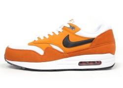 Nike Air Max 1 Essential 'White/Orange-Black'