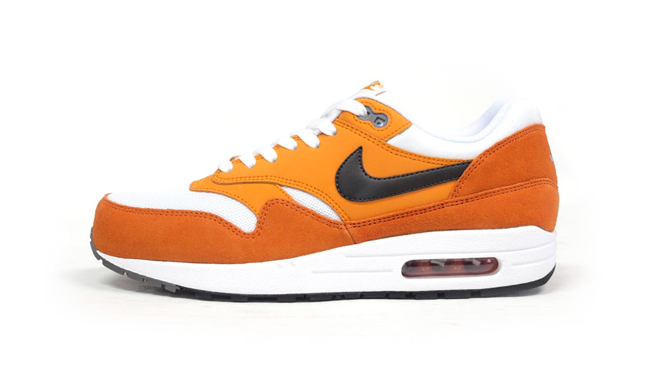 air max 1 white orange black
