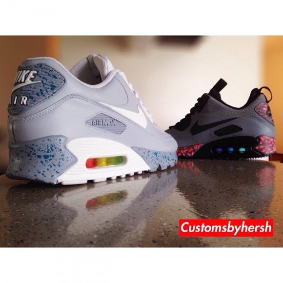sports shoes f0308 ce8d0 nike air max air mag custom