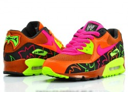 "Nike Air Max 90 ""Ultimate Warrior"" Customs by Freaker Sneaks"