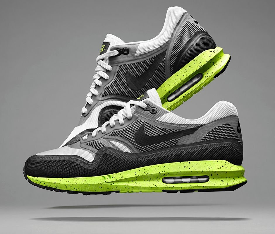 nike air max lunar1 39 white black cool grey volt. Black Bedroom Furniture Sets. Home Design Ideas
