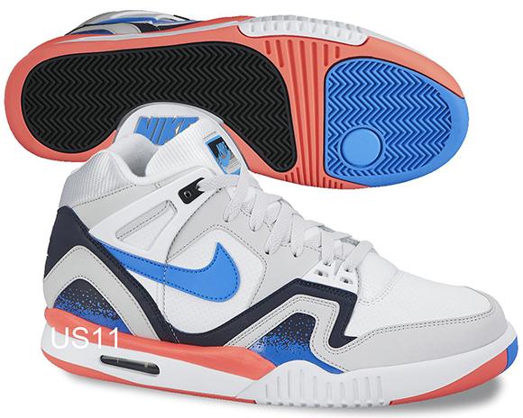 Nike Air Tech Challenge II White/Blue-Orange