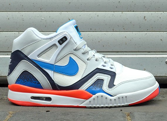 Nike Air Tech Challenge  White Orange-Photo Blue  - New Look ... 9441a03dd9