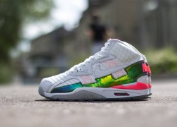 Nike Air Trainer SC High PRM QS 'White/White-Hyper Punch'