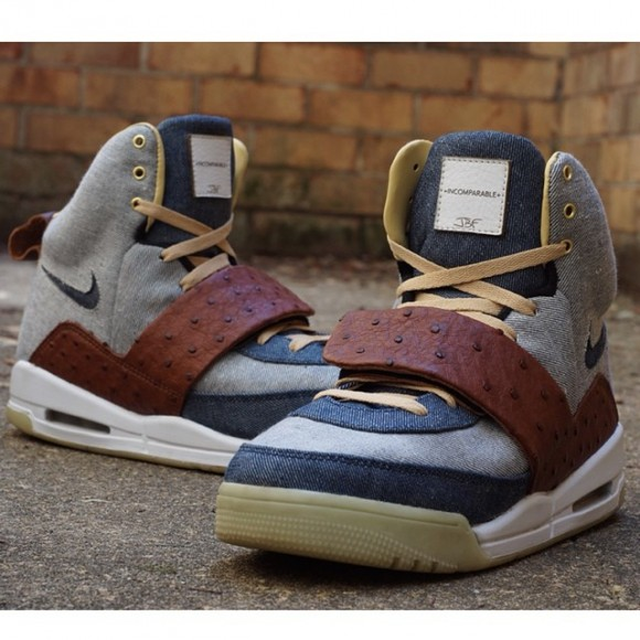 nike-air-yeezy-i-japanese-selvedge-denim-ostrich-skin-customs-by-jbf-customs