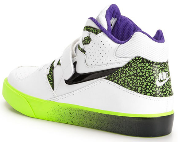 Nike Auto Force 180 White/Purple-Volt