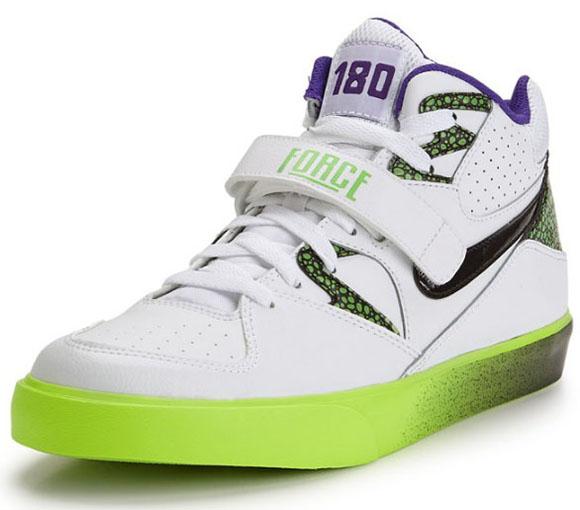 Nike Auto Force 180 White/Purple-Volt