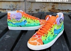 Nike Blazer 'Bizzle State of Mind' Customs by Ecentrik Artistry