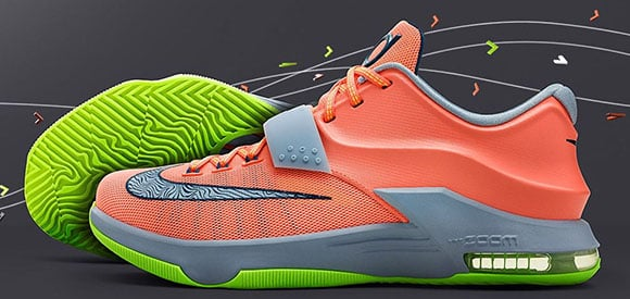 Nike KD 7 35,000 Degrees Release Date