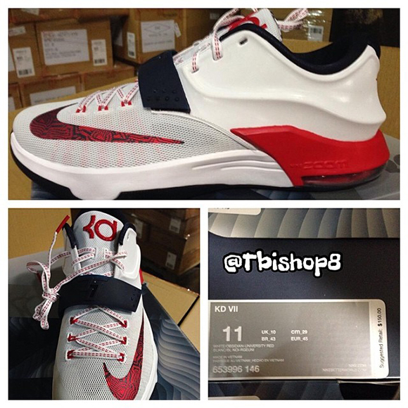 Nike KD 7 USA First Look