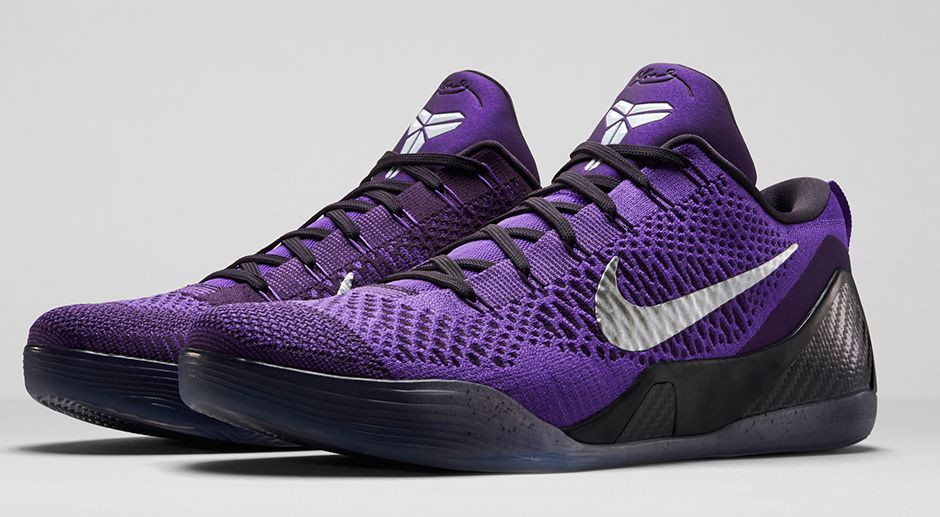 Nike Kobe 9 Elite Low 'Hyper Grape' – Official Images