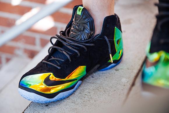 Nike LeBron 11 EXT Kings Crown aka Crown Jewel On-Foot