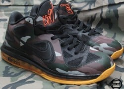 "Nike LeBron 9 Low ""Camo"" Customs by Alberto Lou"