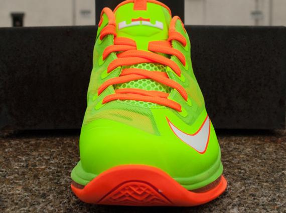 Nike LeBron XI (11) Low GS 'Electric Green/White-Total ...