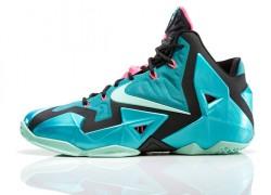 Nike LeBron XI (11) 'South Beach' – Foot Locker Release Details
