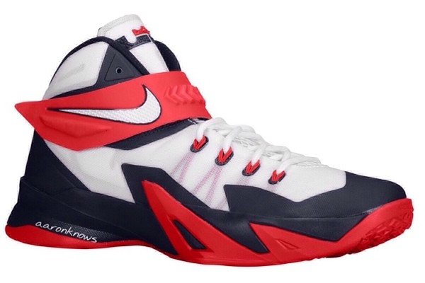Nike LeBron Zoom Soldier VIII (8) 'USA