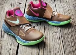 """Nike """"Net KDeezy 4″ Customs by Gourmet Kickz"""